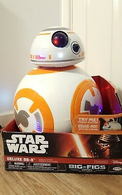"Star Wars The Force Awakens Giant Size 18"" Deluxe BB-8 Action Figure"