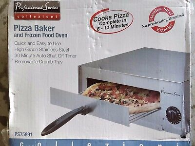 Professional Series PS75891 Pizza Oven Baker Cooker