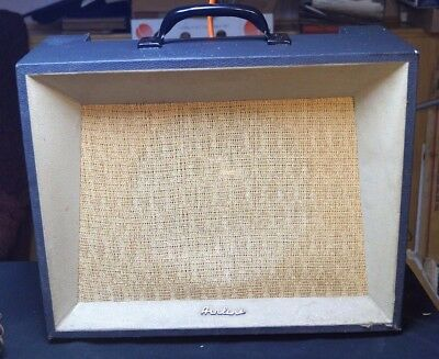 Vintage 1962 Model 9003 Montgomery Ward Airline Tube Guitar Amp W/ Foot Pedal