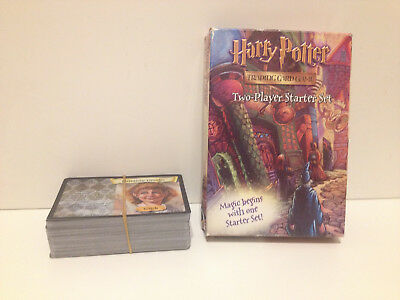 Harry Potter Trading Card Game - Two 2 Player Starter Set | Complete, 2001, VGC