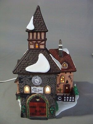 "1996 Porcelain Dept 56 ""The Olde Camden Town Church"", Dickens Village Series"