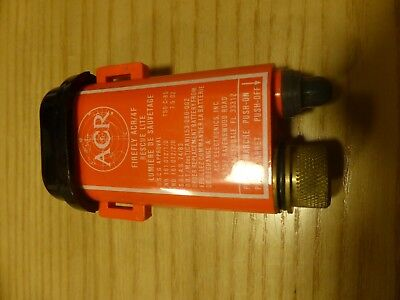 ACR Firefly 4F strobe beacon emergency light distress signal ACR/4F