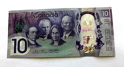 NEW 2017 Canada 150th Commemorative 10 Dollar Polymer Banknote