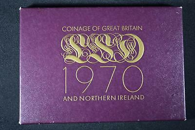 1970 Coinage Of Great Britain & Northern Ireland (8) Coin Proof Set