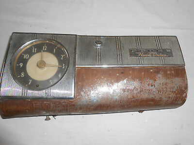 1948 Dodge  Sedan Glove Door With Clock , Original Part
