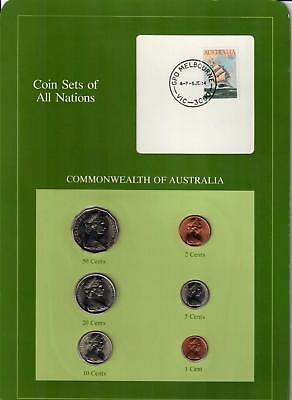 1983-1984 Commonwealth Of Australia Coin Sets Of All Nations (6) Coins