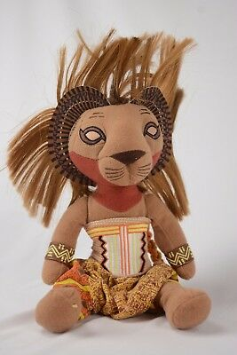 "Disney's The Lion King Broadway Musical SIMBA Plush Toy 16"" Doll - Free S&H -New"
