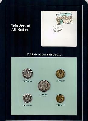 Syrian Arab Republic Coin Sets Of All Nations (5) Coins Syria
