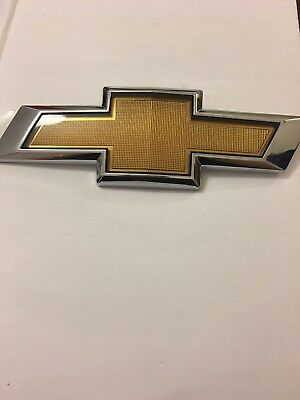 Chevrolet Chrome Emblem Badge