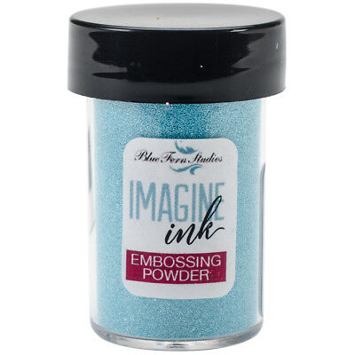 Blue Fern Studios Embossing Powder 1Oz Blue Sky BF107474