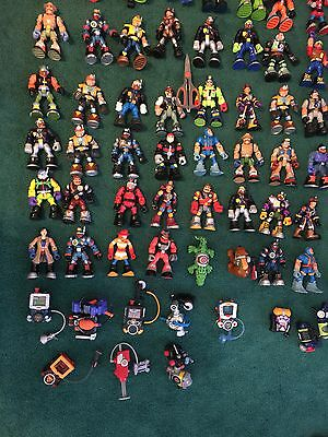 """HUGE Lot of 90 Rescue Heroes Figures, Accessories, Packs & Animals Most are 6"""""""