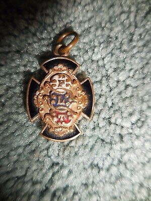 ANTIQUE/VINTAGE~Fraternal Order of Odd Fellows~  Gold-Plated~Watch Fob