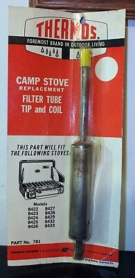 Holiday Thermos King Seeley Camp Stove Generator, NOS, Part 781