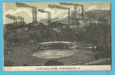 "Baseball Park PC: Portsmouth ""Cobblers"", Ohio State League - c. 1910s"