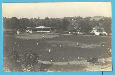 Baseball Park RPPC: Washington, Pa; Penn-Ohio-Maryland League - c. 1906