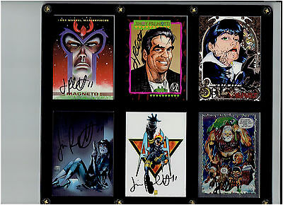 Jimmy Palmiotti Six Card Signed Set! Ash Vampirella Magneto Painkiller Jane