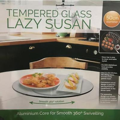 Lazy Susan Glass Tempered - FREE SHIPPING