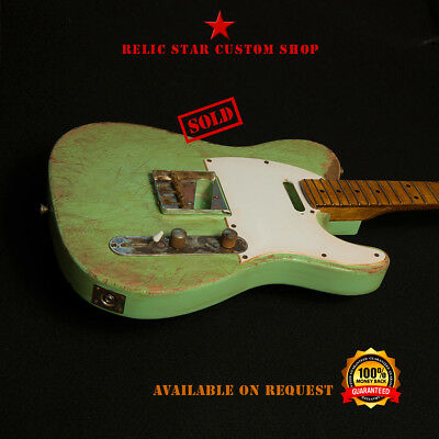 RELIC STAR Custom Shop T-ROAD USA Ash telecaster mod.