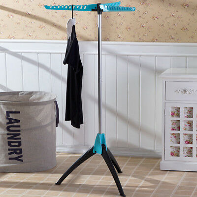 Clothes Drying Rack Folding Foldable Collapsible Hanging Laundry Garment Stand