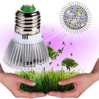8/18/28W LED E27 Plant Grow Light Flower Indoor Hydroponic Plant Full Spectrum