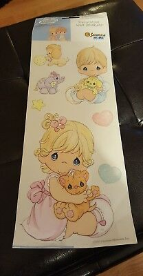 Precious Moments Baby 7 Removable Wall Stickers New