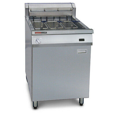 Deep Fryer Single Vat 39L 3 Baskets with Rapid Recovery Austheat Hospitality NEW