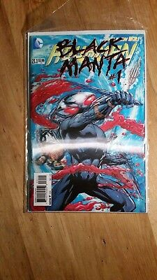 DC New 52 Aquaman #23.1 Black Manta #1 3D Lenticular VG+