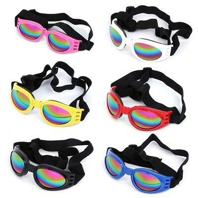 Pet Dog Sunglasses Folding Water-Proof Protection Goggles Multi-Color Eye Wear
