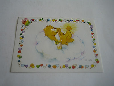 Vintage 1985 Panini Care Bear Sticker #163**american Greetings Corp**