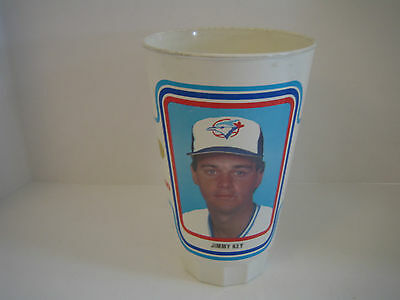 1985 Toronto Blue Jays For Kids Jimmy Key Plastic Cup