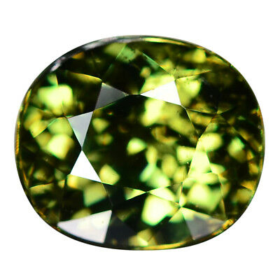 2.48 Ct. Loupe Clean Natural Demantoid Garnet WITH GLC CERTIFY