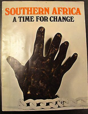 Southern Africa a Time for Change - 1969  Publication
