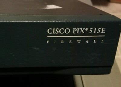 Cisco PIX 515E FIREWALL with 4 additional interfaces