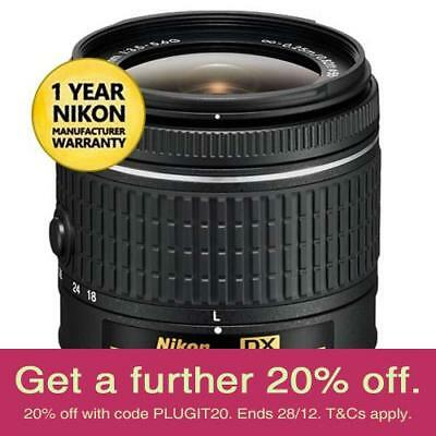 Nikon JAA827DA AF-P 18-55mm Lens (REFURB) with AUST NIKON WARRANTY