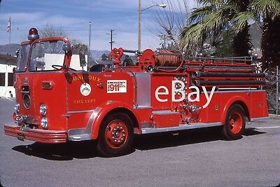 Fire Truck Photo Rubidoux Classic Open Cab Crown Engine Apparatus Madderom