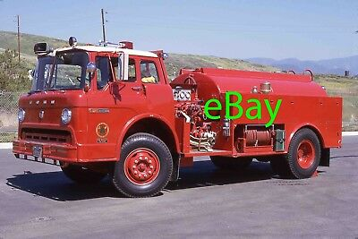 Fire Truck Photo CA Forestry CDF Ford West-Mark Tanker Engine Apparatus Madderom