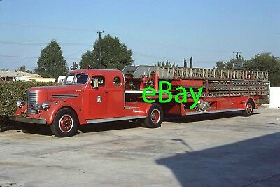 Fire Engine Photo Pomona Classic Pirsch Aerial Truck Apparatus Madderom