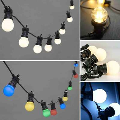 Festoon Globe Party String Lights 20LED Connectable Wedding Outdoors Waterproof