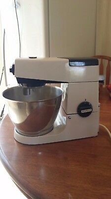 Kenwood Chef A701A mixer and accessories
