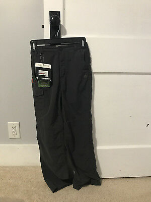 Craghoppers BLACK PEPPER Insect Shield Nosilife Hiking Pants Youth 11-12 EUR 152