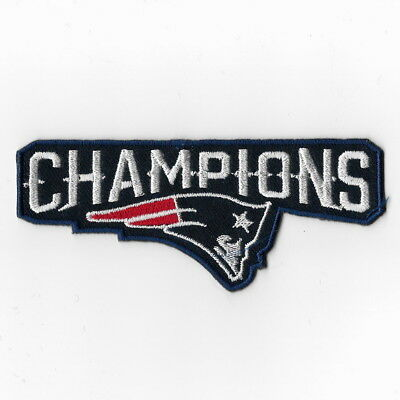 New England Patriots Champions NFL Iron on Patches Embroidered Applique