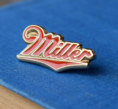 Miller Beer Lapel Pin - Light - Vintage - Alcohol Collectible