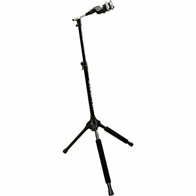 Ultimate GS-1000 PRO - Soporte para guitarra con altura ajustable, color negro