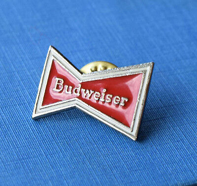 Budweiser Beer Lapel Pin - King of Beers - Vintage - Alcohol Collectible