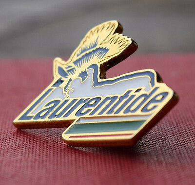 Laurentide Beer Lapel Pin - Quebec, Canada - Vintage - Rare Alcohol Collectible