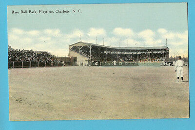"Baseball Park PC: Charlotte ""Hornets""; NC State League - c. 1910s"