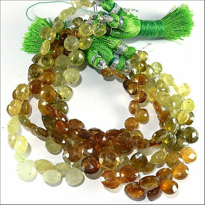 Real prenite stones neklace look natural loose gems10 line 8 inches approx