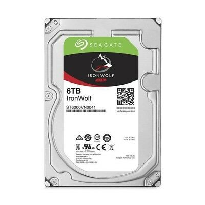 "SEAGATE Disque dur Desk HDD IronWolf NAS 6To 3.5""7.2K SATA - ST6000VN0041"