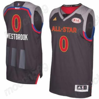 New Men's All-Star Oklahoma City Thunder #0 Russell Westbrook Basketball Jersey