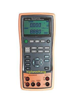 Multifunction Process Calibrator RTD Thermocouple V/A Ohm Frequency Source 1825